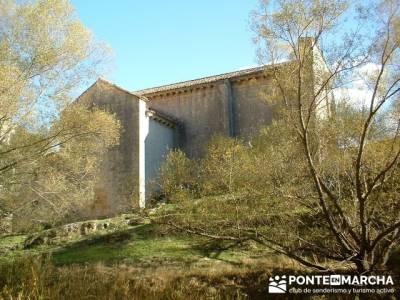 Cañón de Río Lobos - Ermita de San Bartolomé; pueblos de madrid; pueblos con encanto